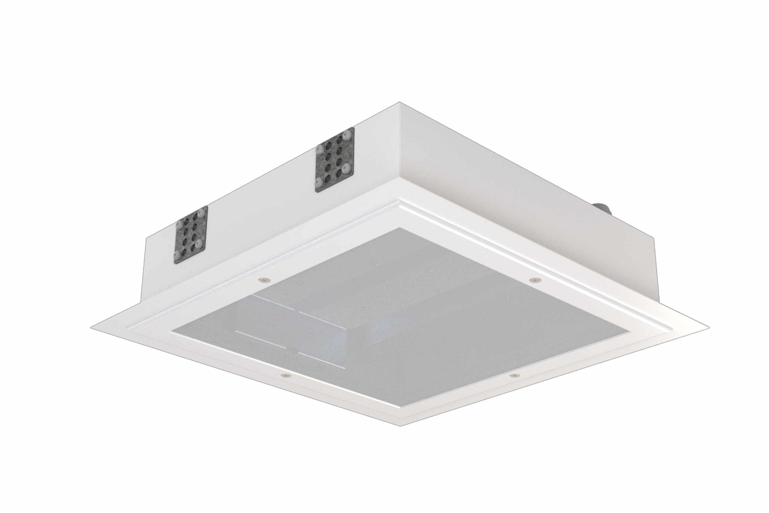 Draco Compact Recessed Led Luminaires For Cleanrooms