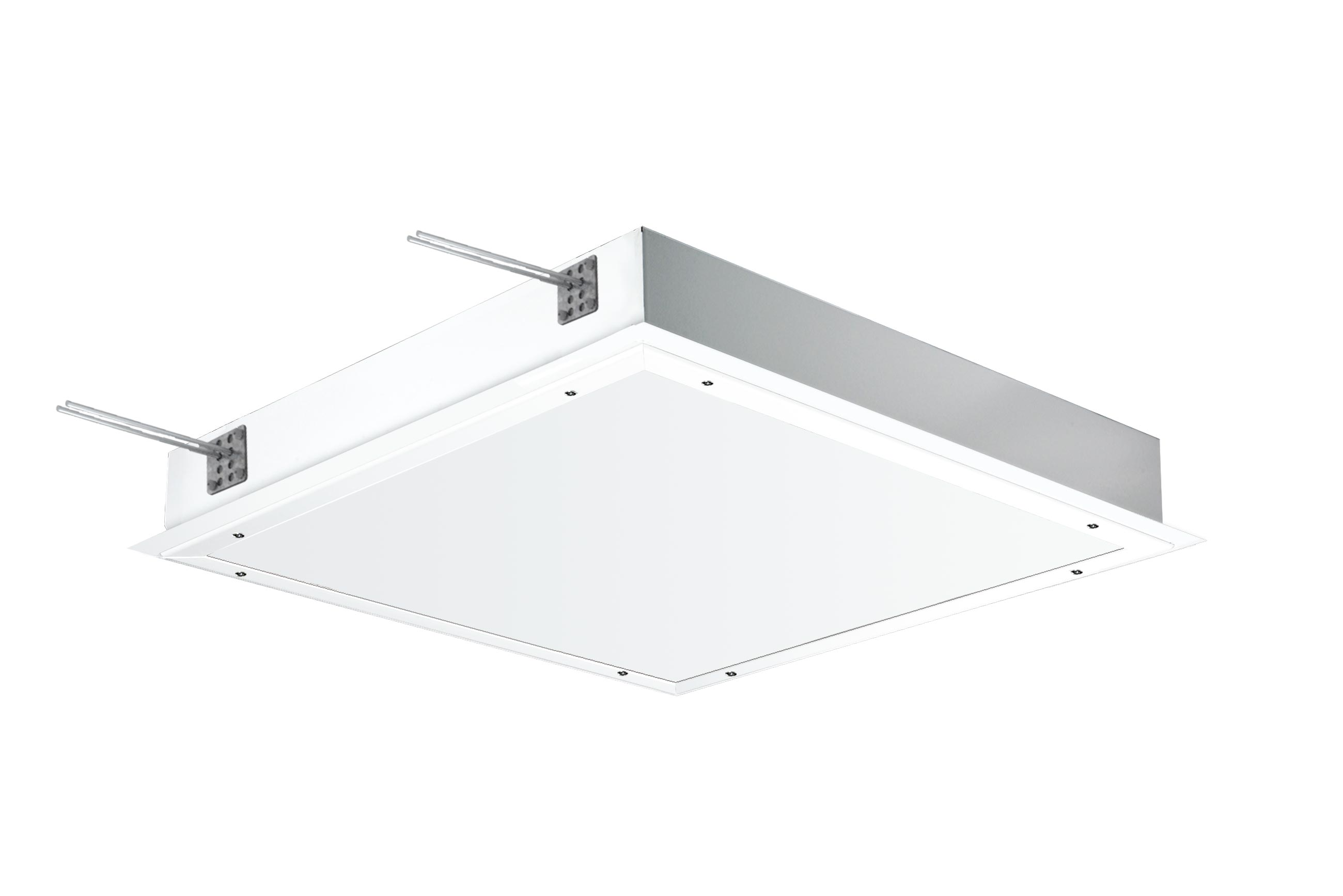 Ir77 led recessed cleanroom led luminaire access from the front ir77 t5 led arubaitofo Image collections
