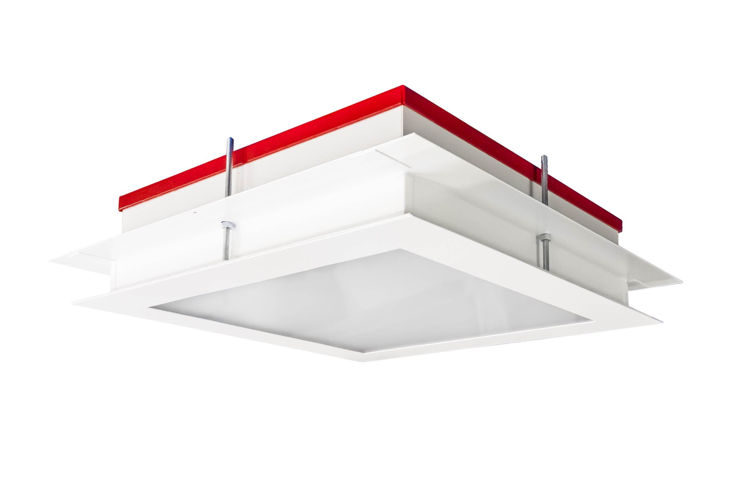 luminaire encastr salles propres a acc s par le dessus. Black Bedroom Furniture Sets. Home Design Ideas